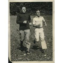 1929 Press Photo Tommy Loughran Trains for Bout with Jack Sharkey - nez06845