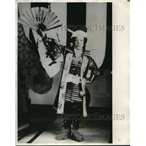 1931 Press Photo Momotaro, Peach Boy of Momotaro Matsuri Festival of Japan