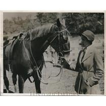 1932 Press Photo Socirty Horse Show winner A. Felix Dupont Jr. - nes10305