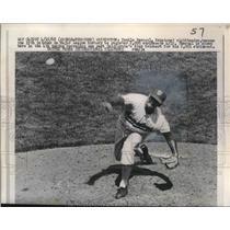 1968 Press Photo Pitcher Camilo Pascual of the Washington Senators - nes10379