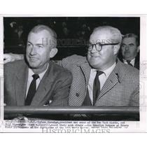 1955 Press Photo Horace Stoneham, Pres & Owner of the NY Giants - nes10424