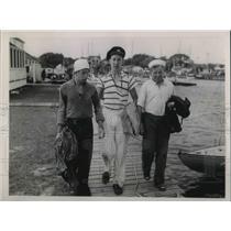 1936 Press Photo Roger Doane, Ray Swanbeck & John Root - nec45189