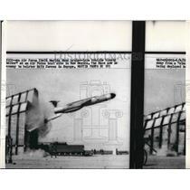 1959 Press Photo USAF TM-76 Martin cruise vehicle test