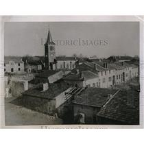 1920 Press Photo French Town of Vitrimont Ruined by German Artillery