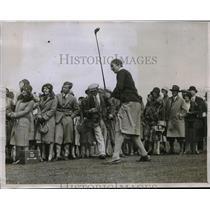 1930 Press Photo Enid Wilson of England beaten by Glenna Colett of America