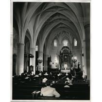 1954 Press Photo The Primate Cathedral of The Americas in Cuidad Trujillo