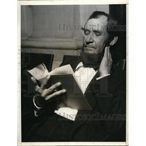 1935 Press Photo Look alike Abraham Lincoln is L. Archuleta in Los Angeles, Ca.