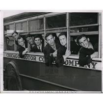 1937 Press Photo Amateur boxing champs, Luigi Muggina, Alex Polus - nes16586