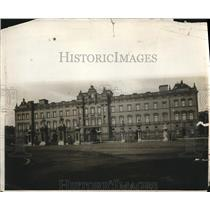 1912 Press Photo View of Buckingham Palace Chief Residence of The Kind & Queen