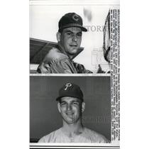 1966 Press Photo Chicago Cubs Dick Ellsworth traded to th Phillies - nes19374