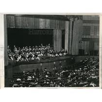 1938 Vintage Photo View Radio Symposium Held Radio City Music Hall NY