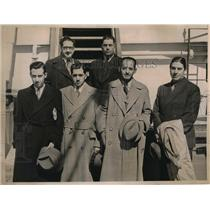 1936 Vintage Photo Members Mexican Olympic Team Returning from Europe