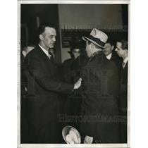 1933 Press Photo Howard Scott proponet of Technocracy Great Depression