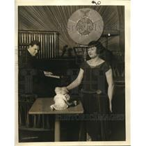 1932 Press Photo Marionettes - nex10792