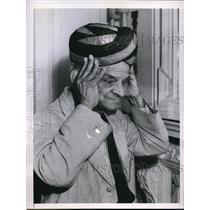 1949 Press Photo London England Sir Diwan T Vijayaraghavacharya of India