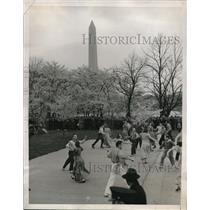 1939 Press Photo Dancers Annual Cherry Blossom Festival Washington, DC