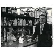 1982 Press Photo 1980 Nobel Prize Winner Dr. Paul Berg - cva01217