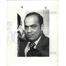 1986 Press Photo of 1976 Photo of Saleem Ahmed Pan Am Hostage - cva02658