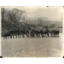 1925 Press Photo Winter Sports At West Point - nex11192