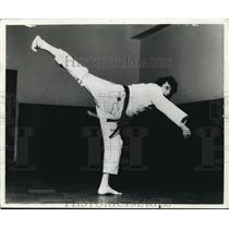 1978 Press Photo Martial Artist Aaron Banks - cva04781