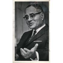 1971 Media Photo Dr. Ralph Bunche First Black Nobel Peace Prize Winner