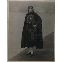 1926 Vintage Press Photo Famous Model Epstein Dolores Hyde Park London