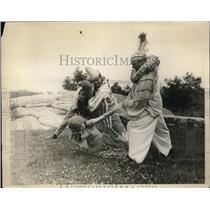 1930 Photo Members American Opera Company Prepare for Performance