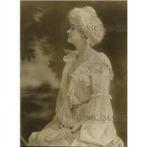 1923 Press Photo Miss Leah A. Miller - nex12261