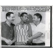 1961 Press Photo Minneapolis Twins Zoilo Versalles, O Perey,F de la Pena