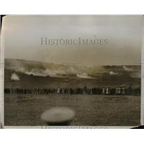 1928 Photo King and Queen Watch Tank Maneuvers British Army Mechanized