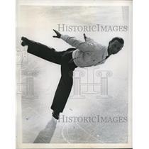 1947 Press Photo Stockholm Sweden Switzerlands Hans Gerschweiler won the