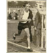 1922 Press Photo Elmer Prim wins 5 mile race in Newark - nes21216