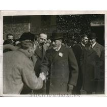 1927 Press Photo H>M> King George who is Lord Derby's guest at Knowsley