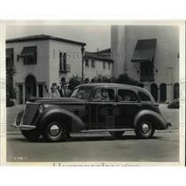 1937 Press Photo The new Hupmobile Six sedan for 1938
