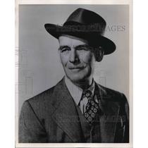 1949 Press Photo James Jimmy Gleason in Miss Grant Takes Richmond - orp14179
