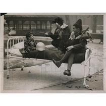 1930 Press Photo Lord Mayors show at St Bartolomews Hospital London