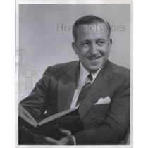 1957 Press Photo Galen Drake radio host of the Galen Drake Show - orp13488