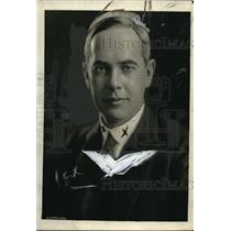 1921 Press Photo Richard Washburn Child NY lawyer & writer, US Amb to Italy