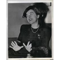 1942 Press Photo Claiborne Foster - orp14450