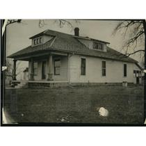 1922 Press Photo Willard Long love nest house near New Albany - nex17007
