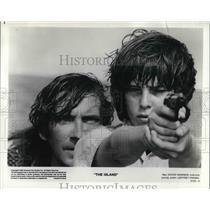 1980 Press Photo David Warner and Jeffrey Frank star in The Island - orp14891