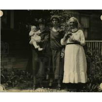 1924 Press Photo James ronald, Godlie Dawson, Mrs Ida Weits, Margaret Strain