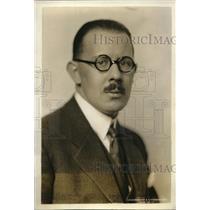 1927 Press Photo LA Girardet First Sec of Switzerland Legation in Wash DC