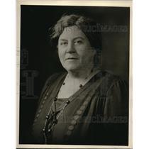 1929 Press Photo Mrs C Houston Goudiss Forecast Radio School of Cookery on NBC