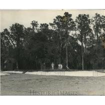1927 Vintage Photo View Green and Trap Cleveland Heights Golf Course