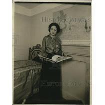1918 Press Photo Mrs Frances Alexander Wellman Socialite and Business Woman