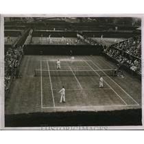 1930 Photo Bill Tilden and Timmer vs. Deterding and Reddall Doubles