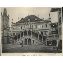 1919 Press Photo De L'Hotel de Ville in Berne City, Switzerland.