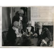 1932 Press Photo Washington Birthday Celebration