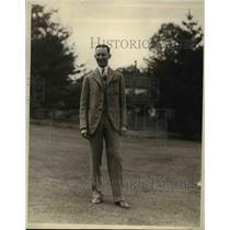1926 Press Photo Robert W. Lane, treasurer of the New Jersey Bond Club.